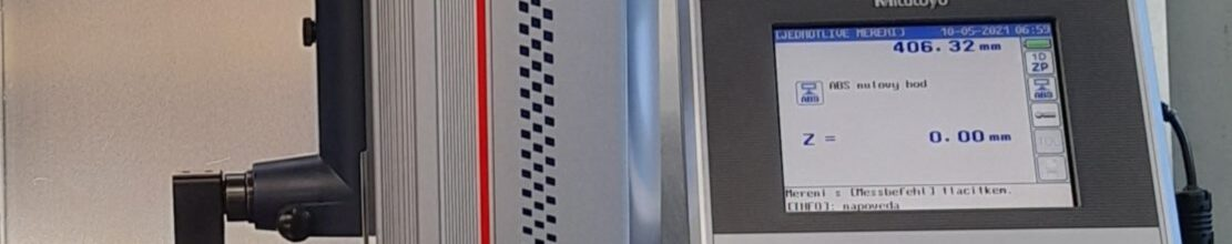 Pořízení lineárního výškoměru LH-600